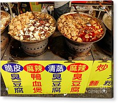 Acrylic Print featuring the photograph Spicy And Herbal Hot Pot Food by Yali Shi