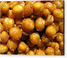 Acrylic Print featuring the photograph Spicy Chick Peas by Lindie Racz