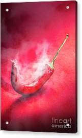 Spicy Food Art Acrylic Print