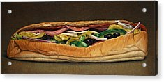 Spicy Italian Acrylic Print by James W Johnson