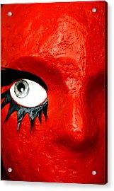 Spidereye Acrylic Print by Jez C Self