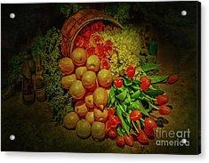 Spilled Barrel Bouquet Acrylic Print