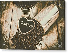 Spilling The Beans Acrylic Print by Jorgo Photography - Wall Art Gallery