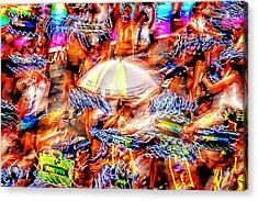 Prance Party Acrylic Print by Az Jackson