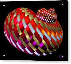 Spin-orbit Interaction Acrylic Print by Manny Lorenzo