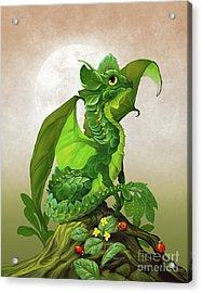Spinach Dragon Acrylic Print