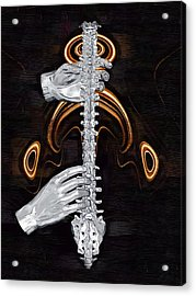 Spine - Instrument Of Life Acrylic Print by Joseph Ventura