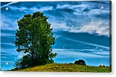 Sping Landscape In Nh 3 Acrylic Print by Edward Myers