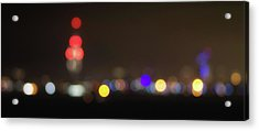 Spinnaker Tower Bokeh Acrylic Print