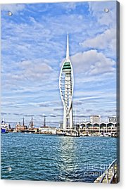 Spinnaker Tower Portsmouth Acrylic Print by Terri Waters