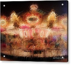 Spinning At The Speed Of Light Acrylic Print