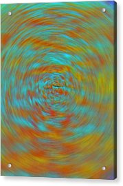 Acrylic Print featuring the photograph Spinning Out Of Control by Lenore Senior