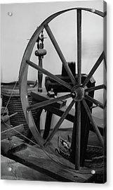 Spinning Wheel At Mount Vernon Acrylic Print