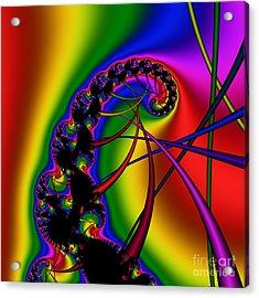 Spiral 122 Acrylic Print by Rolf Bertram