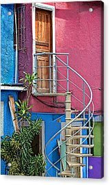 Acrylic Print featuring the photograph Spiral Entry by Kim Wilson