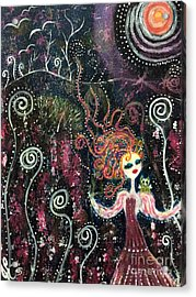Spiral Acrylic Print by Julie Engelhardt