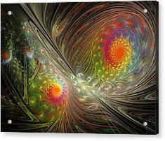 Spiral Space Acrylic Print