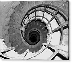 Acrylic Print featuring the photograph Spiral Staircase At The Arc by Donna Corless