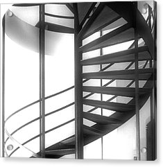 Spiral Staircase In Ethereal Light Acrylic Print