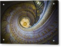 Spiral Staircase Melk Abbey I Acrylic Print