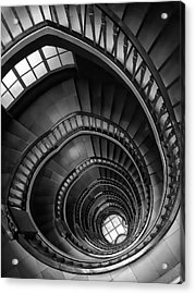 Spiral Stairway Acrylic Print