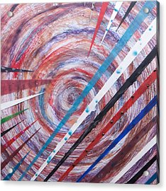 Spiral Unto Thee Acrylic Print by Nell Werner