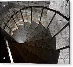 Acrylic Print featuring the photograph Spiraling Downward by Karen Musick