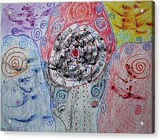 Spiraling Acrylic Print