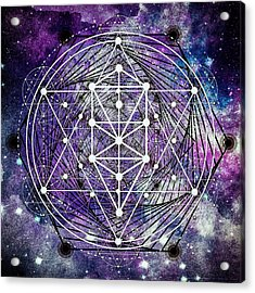 Acrylic Print featuring the digital art Spirals by Bee-Bee Deigner