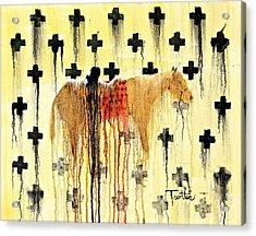 Spirit Blanket Acrylic Print by Patrick Trotter