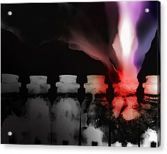 Spirit Bottles Acrylic Print