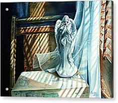 Spirit Breeze Acrylic Print by Carolyn Coffey Wallace
