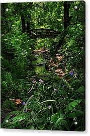 Spirit Bridge 2 Acrylic Print by William Horden