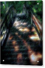 Spirit Bridge Acrylic Print by William Horden