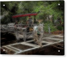 Spirit Carriage 2 Acrylic Print by William Horden
