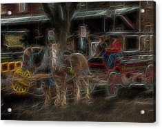 Spirit Carriage 3 Acrylic Print by William Horden