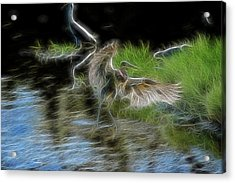 Spirit Garden 4 Acrylic Print by William Horden