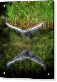 Spirit Garden 7 Acrylic Print by William Horden