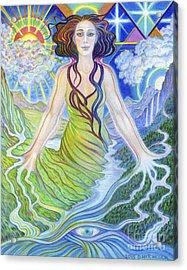 Spirit Guide Reyanne Acrylic Print