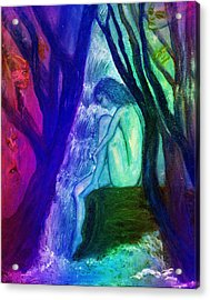 Spirit Guides II Acrylic Print by Patricia Motley