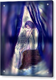 Spirit Guides IIi Acrylic Print by Patricia Motley