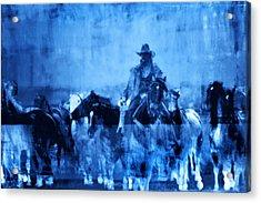 Spirit Herd Acrylic Print by Nick Sokoloff