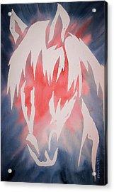 Spirit Horse Acrylic Print by Mark Schutter