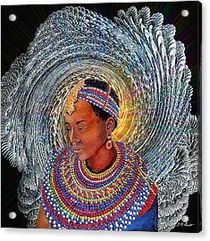 Spirit Of Africa Acrylic Print by Michael Durst