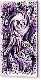 Spirit Of God I Acrylic Print by Rachel Christine Nowicki
