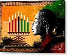 Spirit Of Kwanzaa Acrylic Print