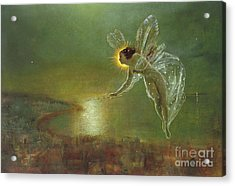 Spirit Of Night, 1879 Acrylic Print by John Atkinson Grimshaw