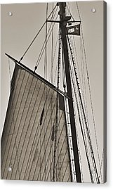 Spirit Of South Carolina Schooner Sailboat Sail Acrylic Print