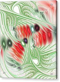Spirit Of Spring Acrylic Print by Anastasiya Malakhova
