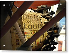 Spirit Of St Louis At Smithsonian Acrylic Print by Skip Willits